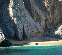 A Beach for Lovers (Sandra Leidholdt) Tags: beach nature mxico mexico cabo natur rocky natura cliffs lovers explore mexican landsend beaches bajacaliforniasur plage playas cabosanlucas loscabos loversbeach playadelamor explored mexicanbeaches sandraleidholdt leidholdt sandyleidholdt