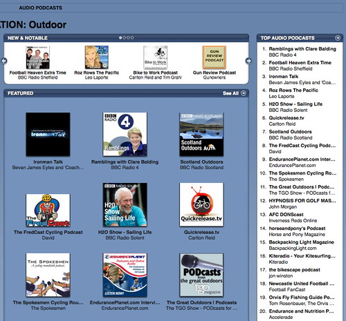 itunes rankings Aug 2008