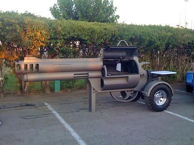 Gun BBQ Pit