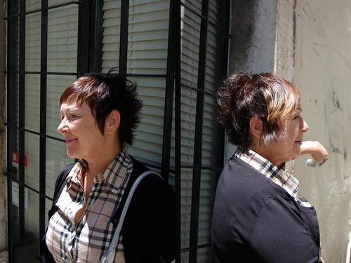 Keith · Tommy and Natasha · short haircut asymmetric