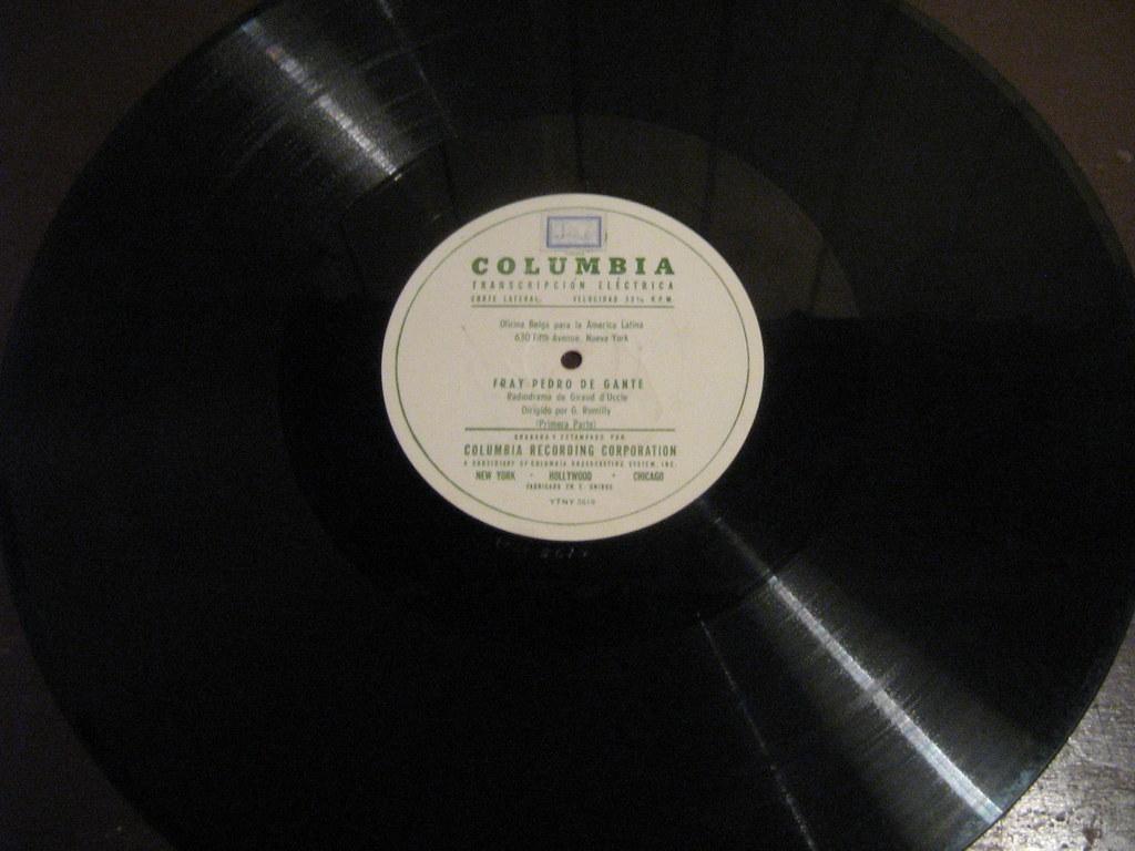 Disco Columbia transcripción 16