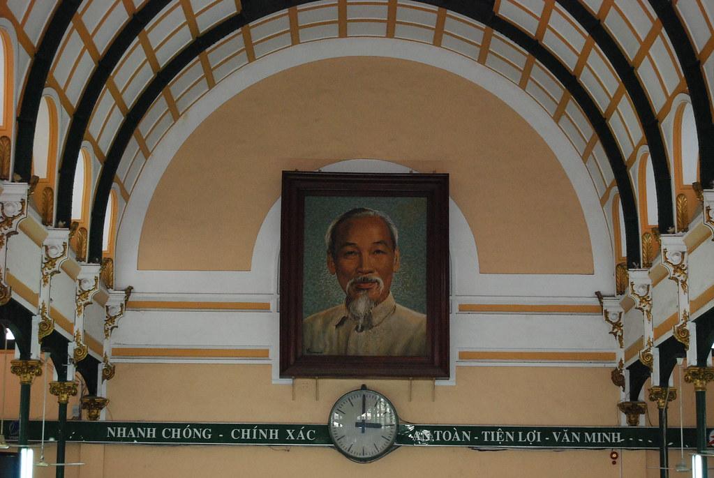 Retrato de Ho Chi Minh