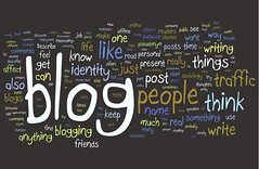 Blogging Research Wordle by Kristina B, on Flickr