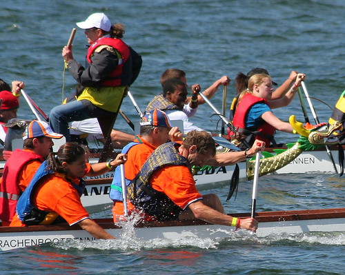 Dragon-boat racing - in a good cause (by DaPi  ♫)