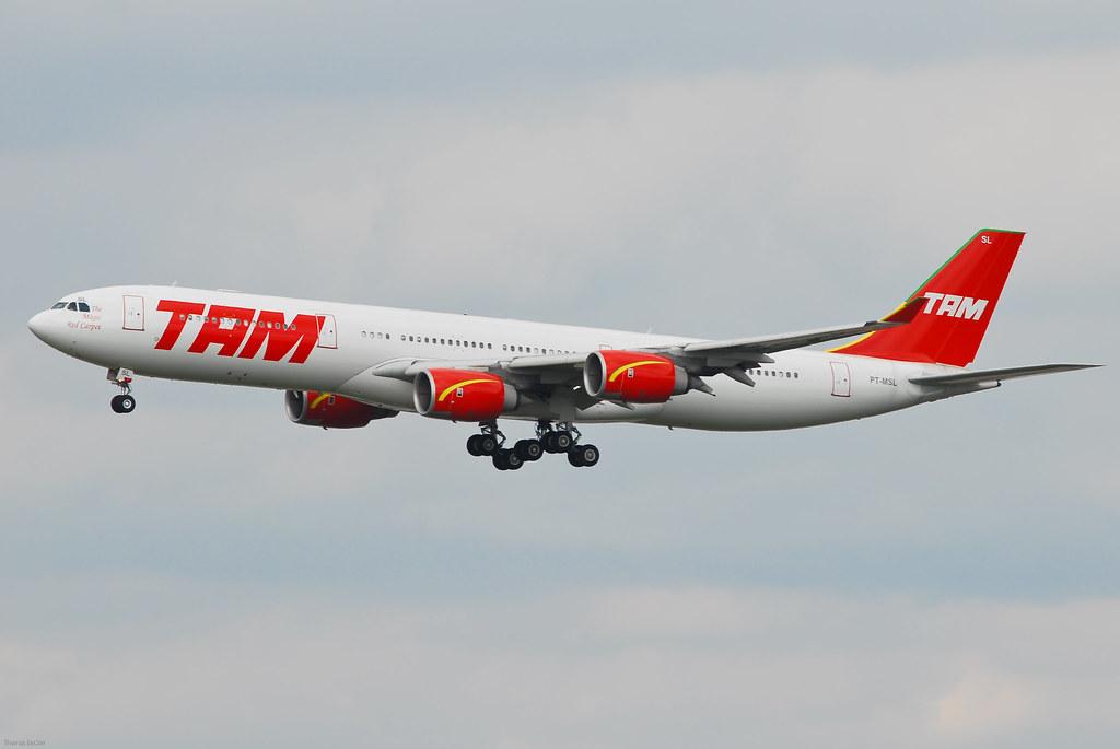 TAM Linhas Aéreas Airbus A340-541 PT-MSL (22906)