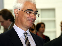 Alastair Darling in Birmingham