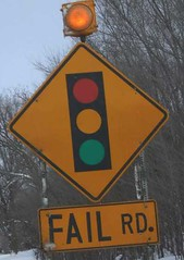 roadsign for Fail Road