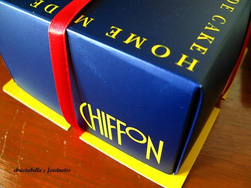 CHIFFON外盒