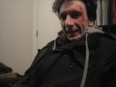 how to black eye makeup (brooklyngeorge) Tags: selfportrait brooklyn williamsburg newyorkcitynyc blackeyemakeup
