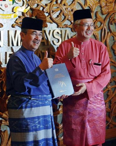 Abdullah and Najib