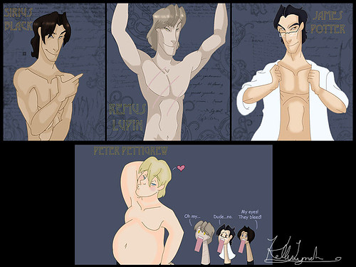 the marauders take it all off by kellywormtongue
