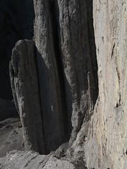 Andy and Trevor at the bottom of a 60m lower (Conrad Janzen) Tags: mountain louis mt climbing alpine guide conrad janzen