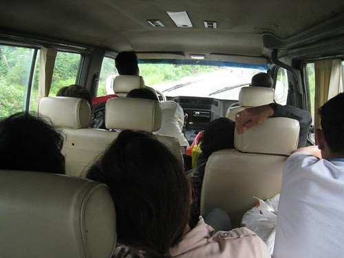 Minibus to Ban Lung