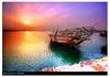 Vivid Sunset [HDR] (Hussain Shah.) Tags: sunset d50 boat nikon vivid sigma kuwait 1020mm hdr shah hussain cokin gnd photomatix singleraw aplusphoto vosplusbellesphotos
