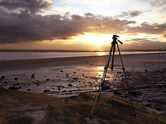 Taken (Mr Grimesdale) Tags: sunset mr steve wallace hale merseyside rivermersey mrgrimsdale halebank olympuse510 grimesdale