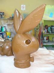 Conejos de chocolate (faberpol.ltda decoracion comercial) Tags: bunny colombia bogota chocolate conejo axe floyd diseño dummie decoracion faberpol