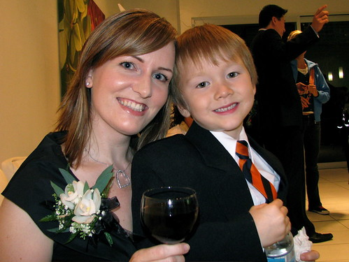 Janet Keall and her son - Keall Foundation Live Blog