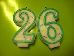 26 by inklestinkle