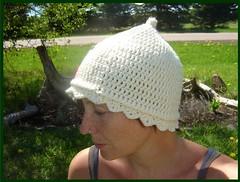 very cherry pixie hat 3 (sand_and_sky) Tags: new hat dreadlocks pattern crochet cap etsy dreads cloche diys sandandsky