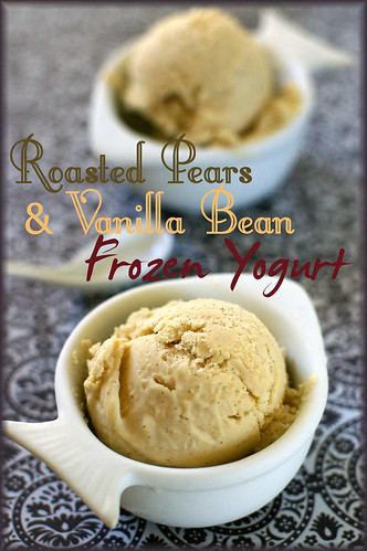 roasted pear frozen yogurt1