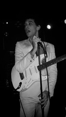 Albert Hammond, Jr. (aurlien.) Tags: white london concert guitar live gig livemusic fender scala kingscross stratocaster alberthammondjr alberthammondjunior londonscala lastfm:event=770889