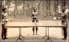 A FRIENDLY GAME OF PING PONG in OLD ZULU LAND
