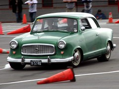 1958 Nash Rambler Autocross ride (osubuckialum) Tags: car race charlotte competition racing autocross nash amc rambler carshow 59 1959 goodguys rambleramerican
