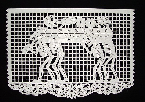 Coffin Carried by Skeletons