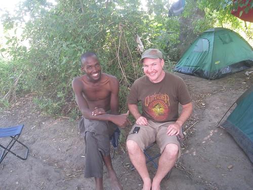 Chillin with Broc (local guide)
