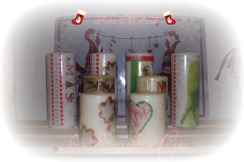 Velas de Natal by you.