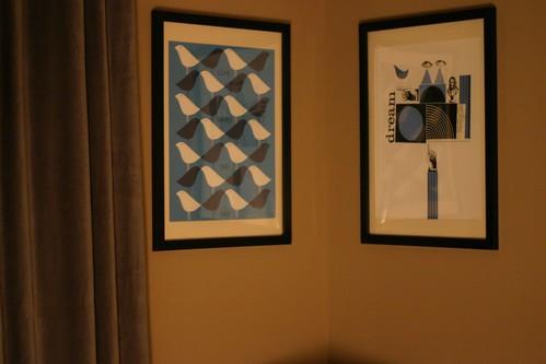Wayne Pate prints in Jack's room