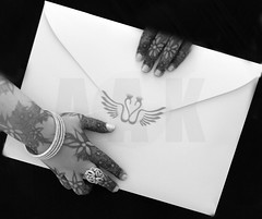 **  ..      (Creative_photography) Tags: wedding love monochrome blackwhite swan you diamond invitation card aak althani