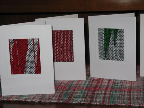 Saori Christmas Cards