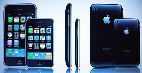 iPhone Nano 3G tamaño