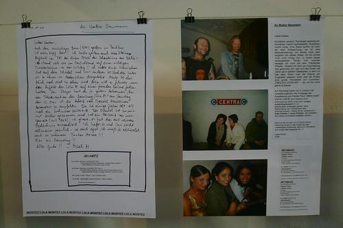 Fax von Mirek Macke an WE Baumann 2001