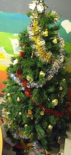 你拍攝的 聖誕樹。