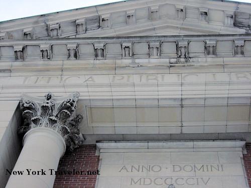 Utica Public Library Exterior 3
