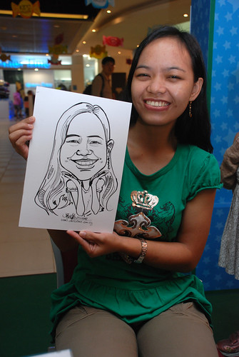 Caricature live sketching for Marina Square Day 2 - 22