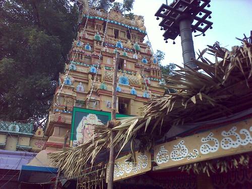Anjaney Temple next to SRR College Vijayawada