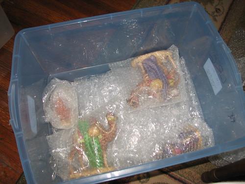 storing the nativity