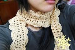 one skein scarf