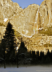 I'VE LEARNED (Michael Brooking Photography) Tags: california trees winter cliff water fog waterfall yosemite yosemitesnowwinter