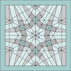 Six Cubes Star Tessellation - CP (Origami Natan) Tags: abstract art mxico star design 3d origami arte geometry cp abstracto diseo estrella tessellation polygons cgi creasepattern origamitessellation geometra geometricart polgonos origami3d carlosnatanlpeznazario origamicp origamizatan artegeomtrico origaminatan teselacinestrelladeseiscubos sixcubesstartessellation