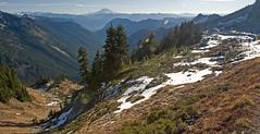 LPT_0276 (Lewis in Washington) Tags: hiking mountrainier 2008 michèle mountadams scrambling plummerpeak