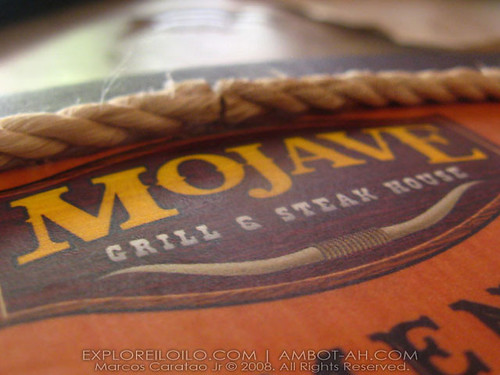 Mojave Grill and Steak House   A Taste of Southwestern American Cuisine