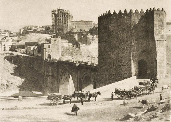 Puente de San Martín y San Juan de Los Reyes (Toledo). Foto del escocés James Craig Annan en 1914. The Metropolitan Museum of Art, New York