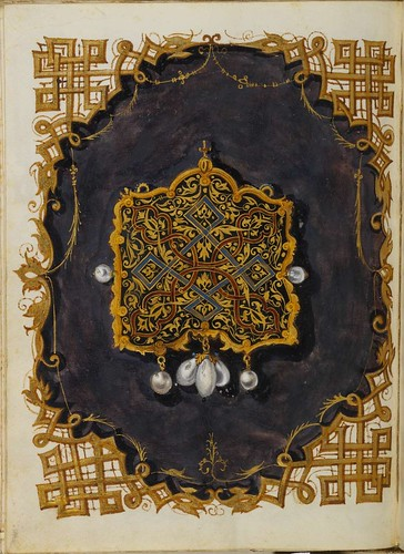 Jewel Book of the Duchess Anna of Bavaria (1550s) m