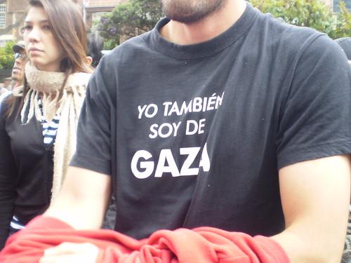 Marcha apoyo a Palestina / Gaza en Bogotá, Colombia - 20090106 - 1061787
