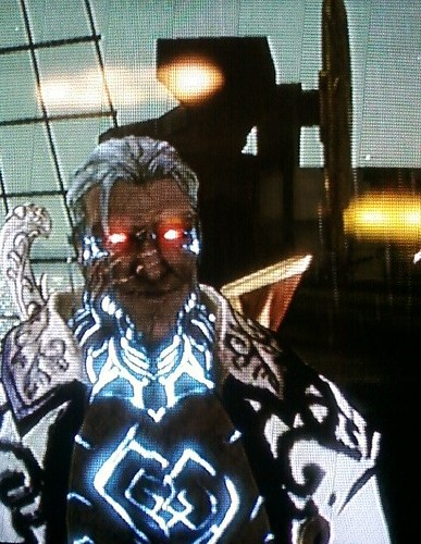 My Fable 2 character looks bad ass.
