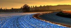 Obsession (landscape photography - sebastien-mamy.fr) Tags: winter sunset snow france landscape hiver obsession panoramic professional neige curve paysage yveline tournant gettyimagesfranceq1